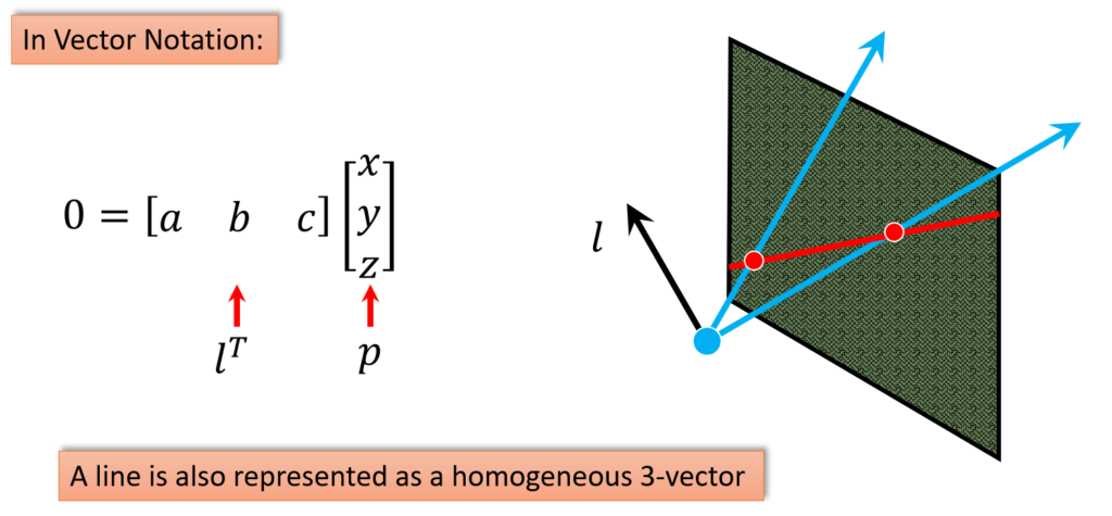 projective-lines-notion-in-vectors