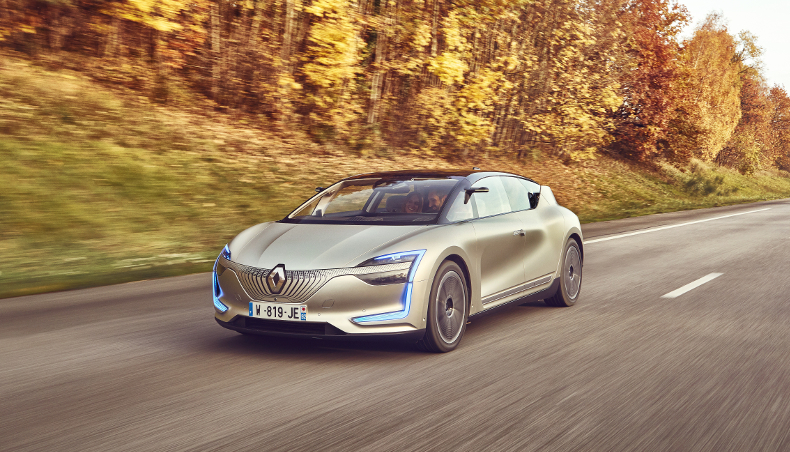 Renault SYMBIOZ top 10 Self Driving Car