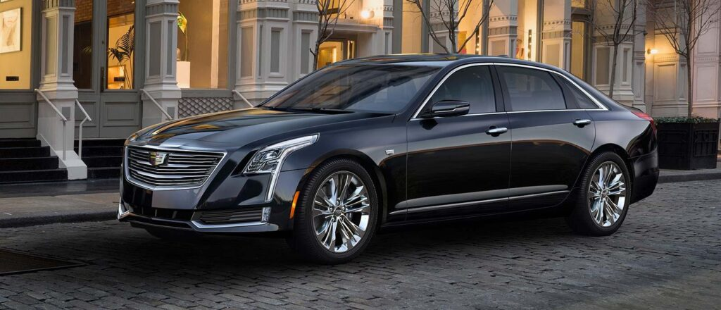 Cadillac CT6 top 10 Self Driving Car