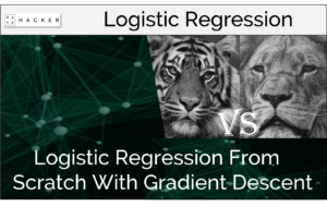 logistic regression from scratch with gradient descent