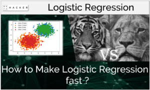 How to make logistic regression fast