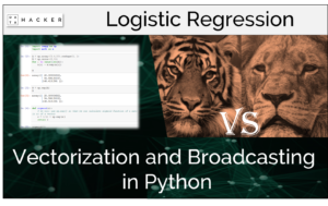 vectoriztaion and broadcasting in python