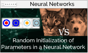 random initialization of parameters in a neural network