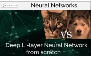 deep layer neural network from scratch