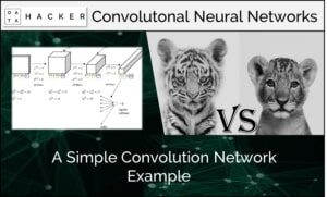 A simple convolutional neural network example