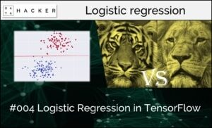 logistic regression in tensorflow