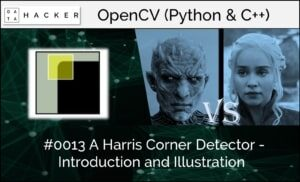 opencv - Harris corner detector - introduction and illustration part 1