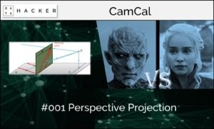 camera calibration - perspective projection
