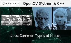 opencv - common type of noise