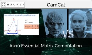 Essential matrix computation