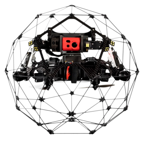 flyability elios 2 drones with cages