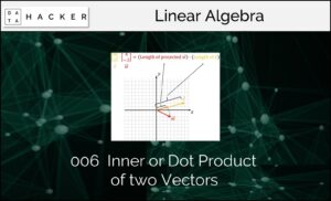Inner or Dot Product of two Vectors