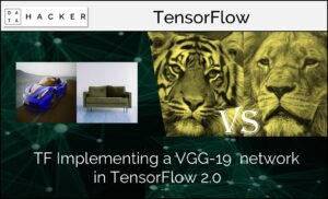 Implementing a VGG-19 network in TensorFlow 2.0