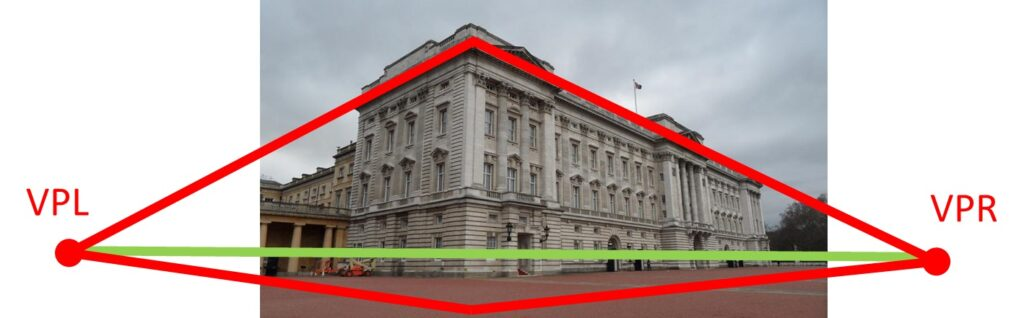 perspective-projection-buckingham-palace