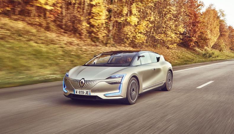 Renault SYMBIOZ top 10 Self Driving Car