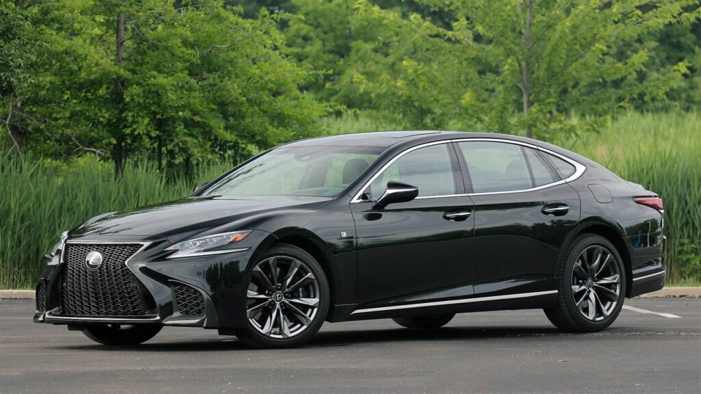 Lexus LS Self Driving Car