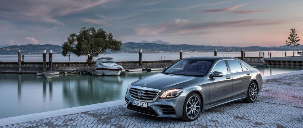 Mercedes-Benz S-Class top 10 Self Driving Car