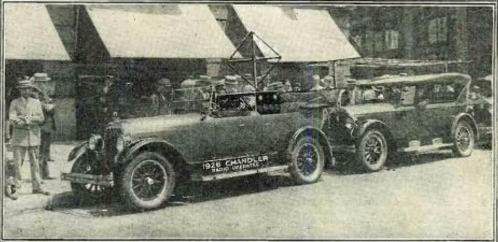 First driverless car