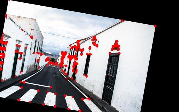 Detecting Corners on a rotated image harris corner detector.