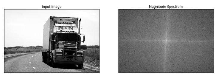 original - magnitude spectrum