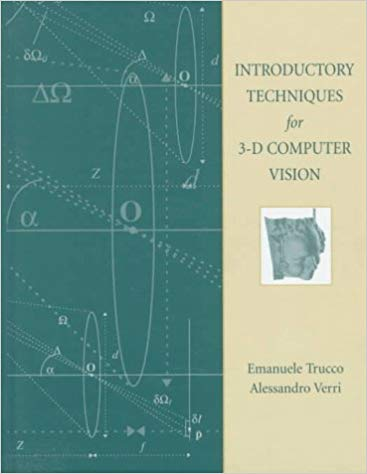 Introductory Techniques for 3‑D Computer By Emanuele Trucco