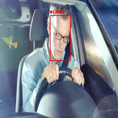 Sleeping driver photo