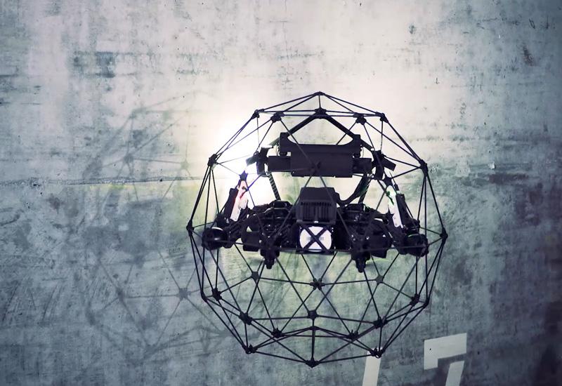flyability drones in tunnels