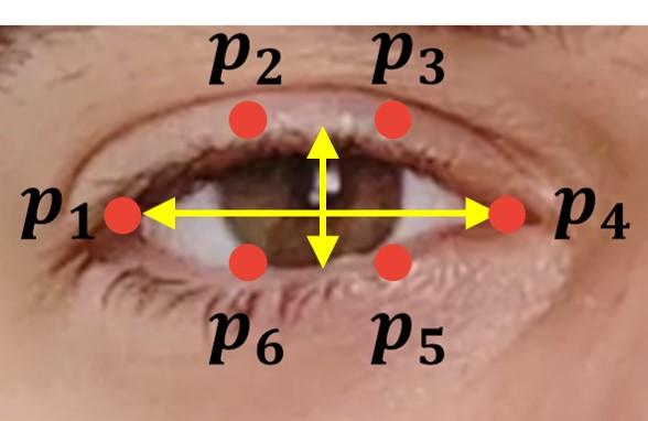 eye blinking EAR