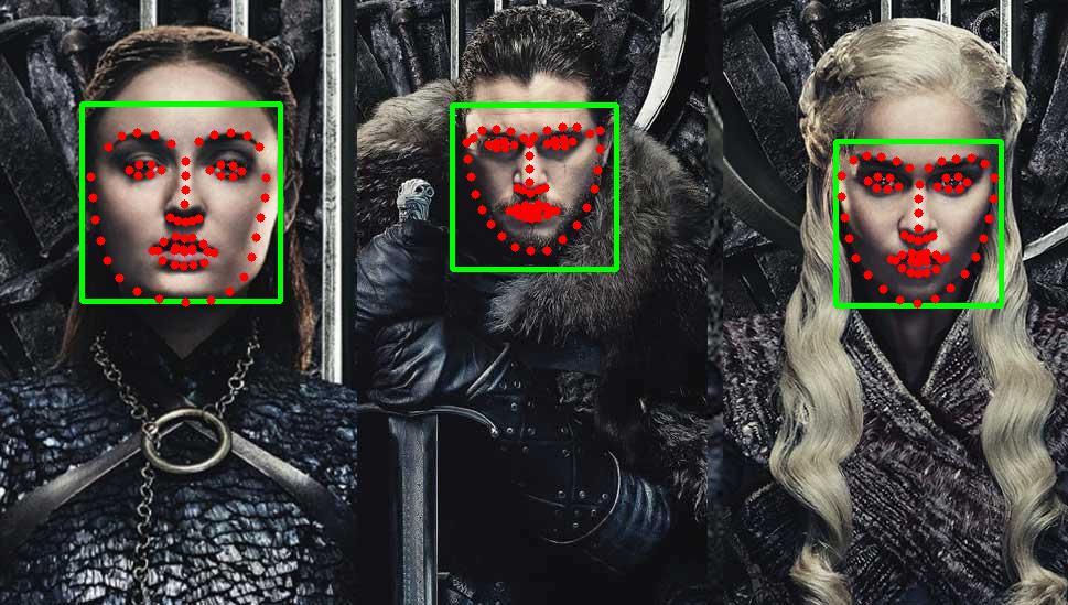 Facial landmarks dlib opencv